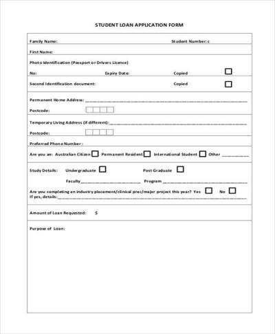 7+ Student Application Form Samples - Free Sample, Example Format Download