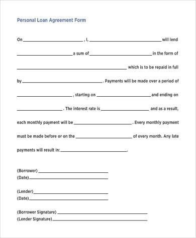 Simple Agreement Forms - 31+ Free Documents in Word, PDF