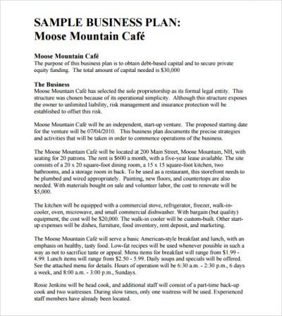 Free Sample Business Plan Letter - 9 best images of sample business proposal free letter plan ...