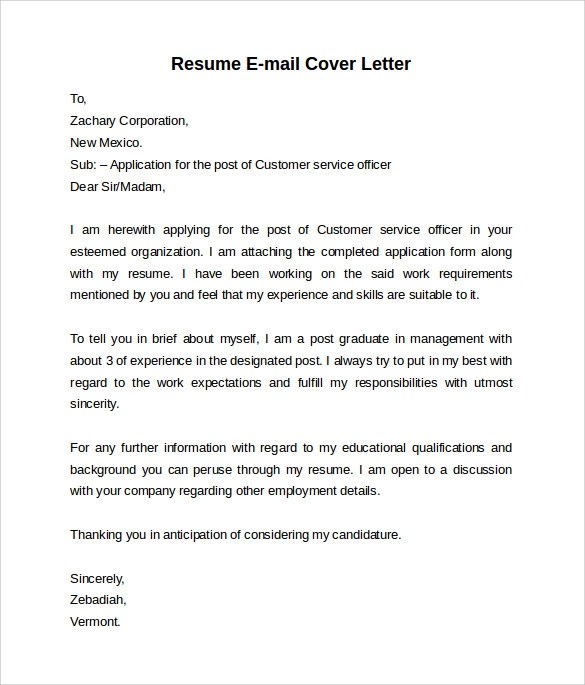 what to put in an email message when attaching a cover letter & resume Resumes & cover letters or how to job search prepare your resume for email and your cover letter and resume to put that resume right in the message so.