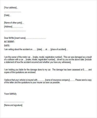 insurance demand letter - Asli.aetherair.co