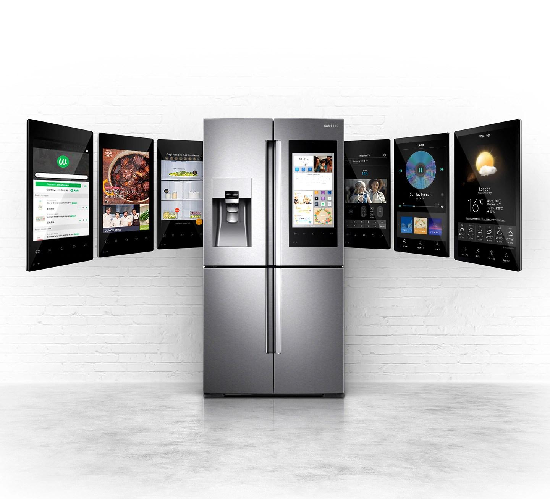 Samsung Family Hub™ Multi-door Fridge Freezer, 550L | Samsung UK
