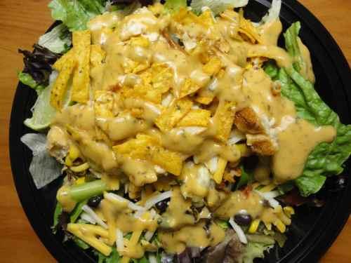 Genuine Southwest Salad Dressing From Nurtrition Price Mcdonald S Southwest Salad Grilled Calories Mcdonald S Southwest Salad Calories
