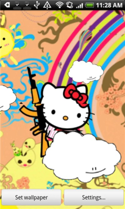 Hello Kitty Live Wallpaper for Android - Download