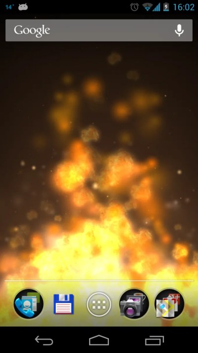 Flame 3D Live Wallpaper for Android - Download