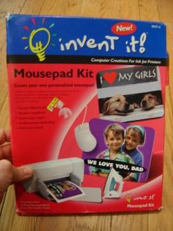 Fabulous Invent It Mousepad Kit Create Your Own Personalized Mousepad 170182a Make Your Own 3d Mouse Pad Make Your Own Anime Mouse Pad