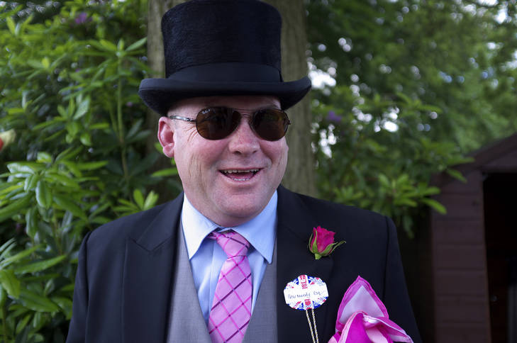 Peter Moody, trainer of Black Caviar, at Royal Ascot yesterday.