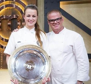 Billie's big comeback: now she's off to work in Heston's restaurant in Britain.