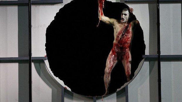 Jud Arthur as Fafner in Opera Australia's The Melbourne Ring Cycle in 2013.