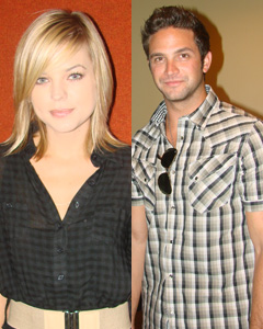 Kirsten Storms and Brandon Barash