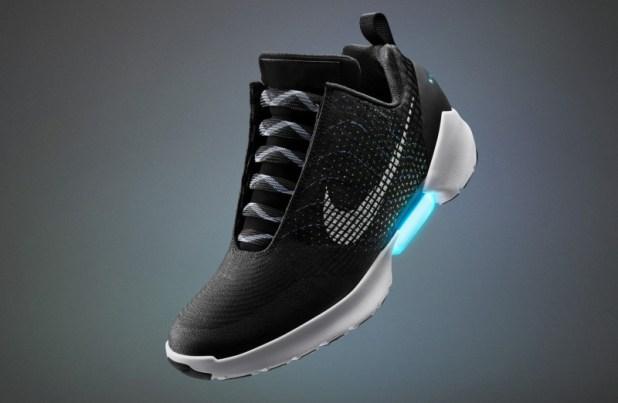 Nike's Self-Lacing Sneaker