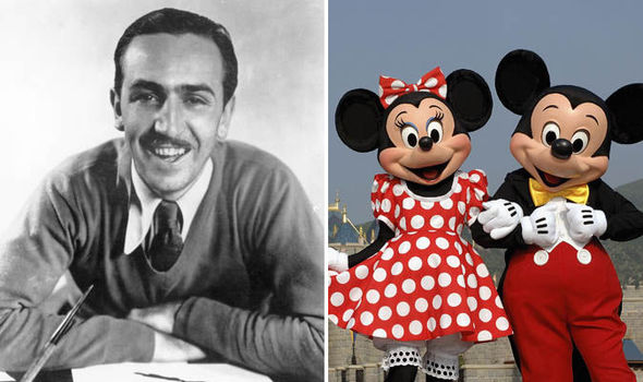 Claims Walt Disney was an anti Semite are dismissed   World   News     Walt Disney and Mickey and Minnie Mouse