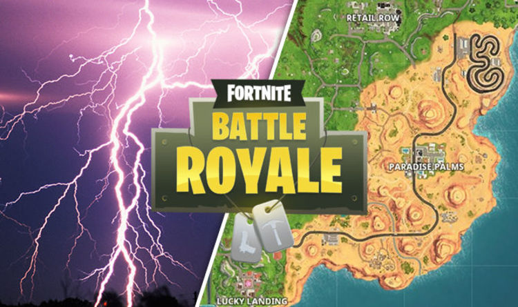 Fortnite lightning bolts week 1 challenge   Search floating bolts     Fortnite lightning bolts week 1 challenge   Search floating bolts Season 5  map locations   Gaming   Entertainment   Express co uk