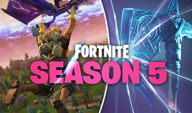 Fortnite Season 5 UPDATE   Early patch notes for HUGE Battle Royale     Fortnite Season 5 UPDATE   Early patch notes for HUGE Battle Royale 5 0 map  change   Gaming   Entertainment   Express co uk