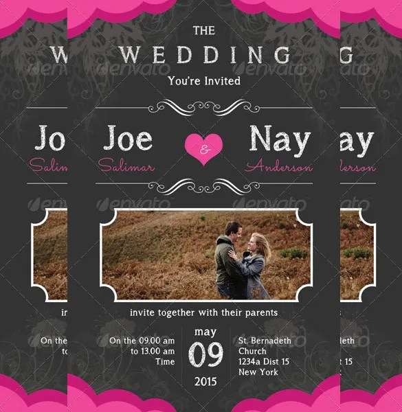 Wedding invitation card template psd invitationswedd 34 wedding invitation design templates psd ai indesign free stopboris Images