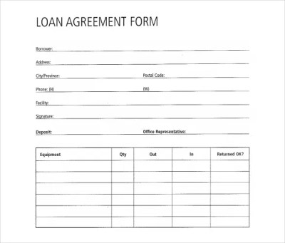 30+ Loan Contract Templates – Pages, Word, Docs   Free & Premium Templates