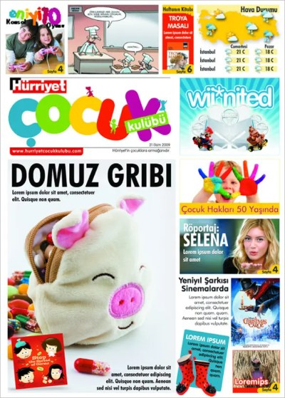 Kids Newspaper Template – 11+ Free PSD, Indesign, EPS Documents Download! | Free & Premium Templates