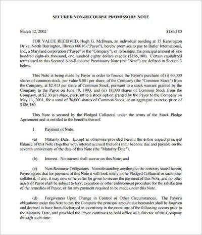 35+ Promissory Note Templates - DOC, PDF | Free & Premium Templates