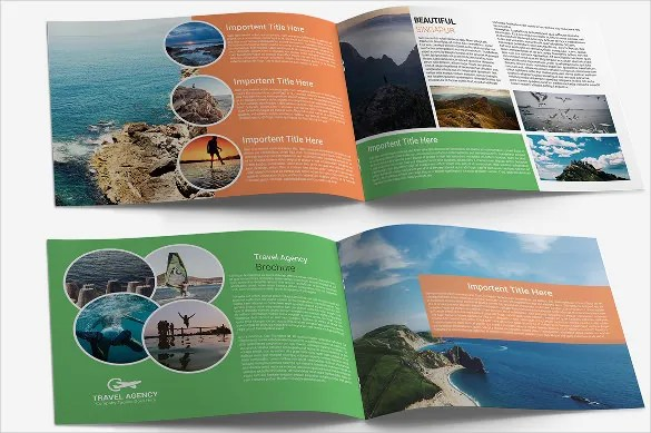 45  Travel Brochure Templates   PSD  AI   Free   Premium Templates Travel Agency Brochure Template