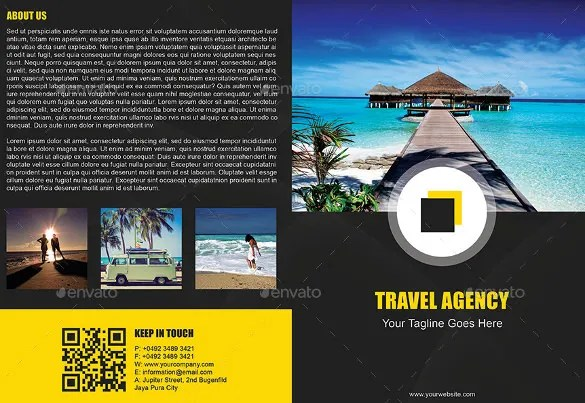 Brochure Travel Examples Free Travel Brochure Example Ideal Vistalist Co