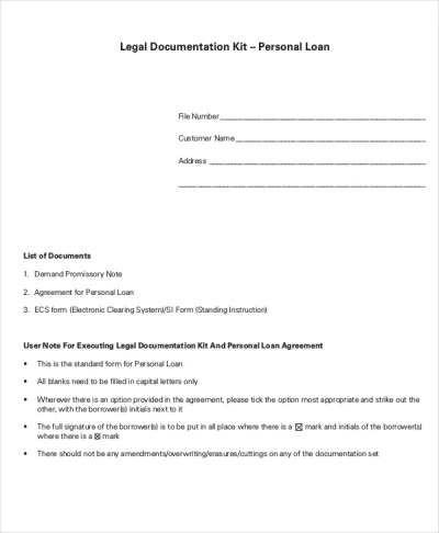 10+ Loan Agreement Templates - Word, PDF, Pages | Free & Premium Templates