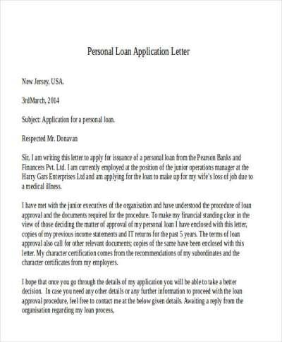 47+ Application Letter Template | Free & Premium Templates
