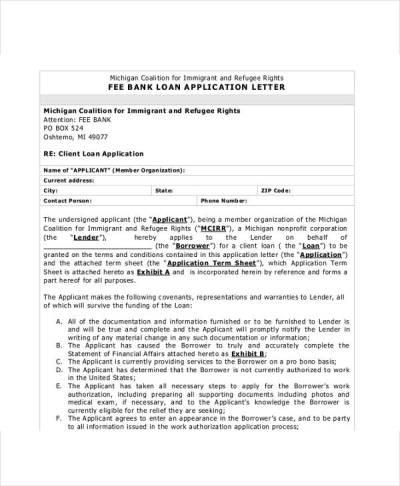 41+ Application Letter Templates Format - DOC, PDF | Free & Premium Templates