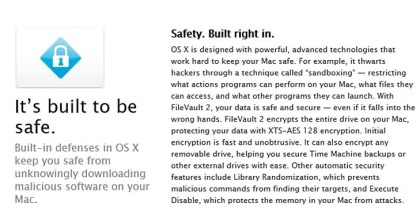 A screenshot of Apple's updated website.
