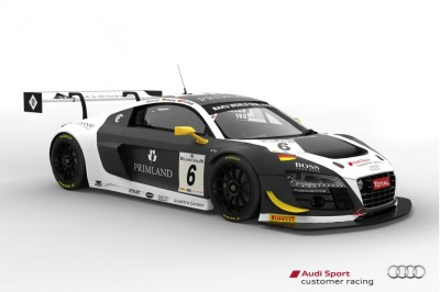 Seven Audi R8 LMS ultra Race Cars To Tackle 2013 Spa 24 Hours