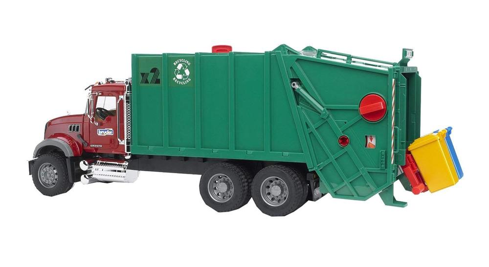 Fullsize Of Bruder Garbage Truck
