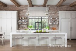 Small Of Rustic Home Kitchen