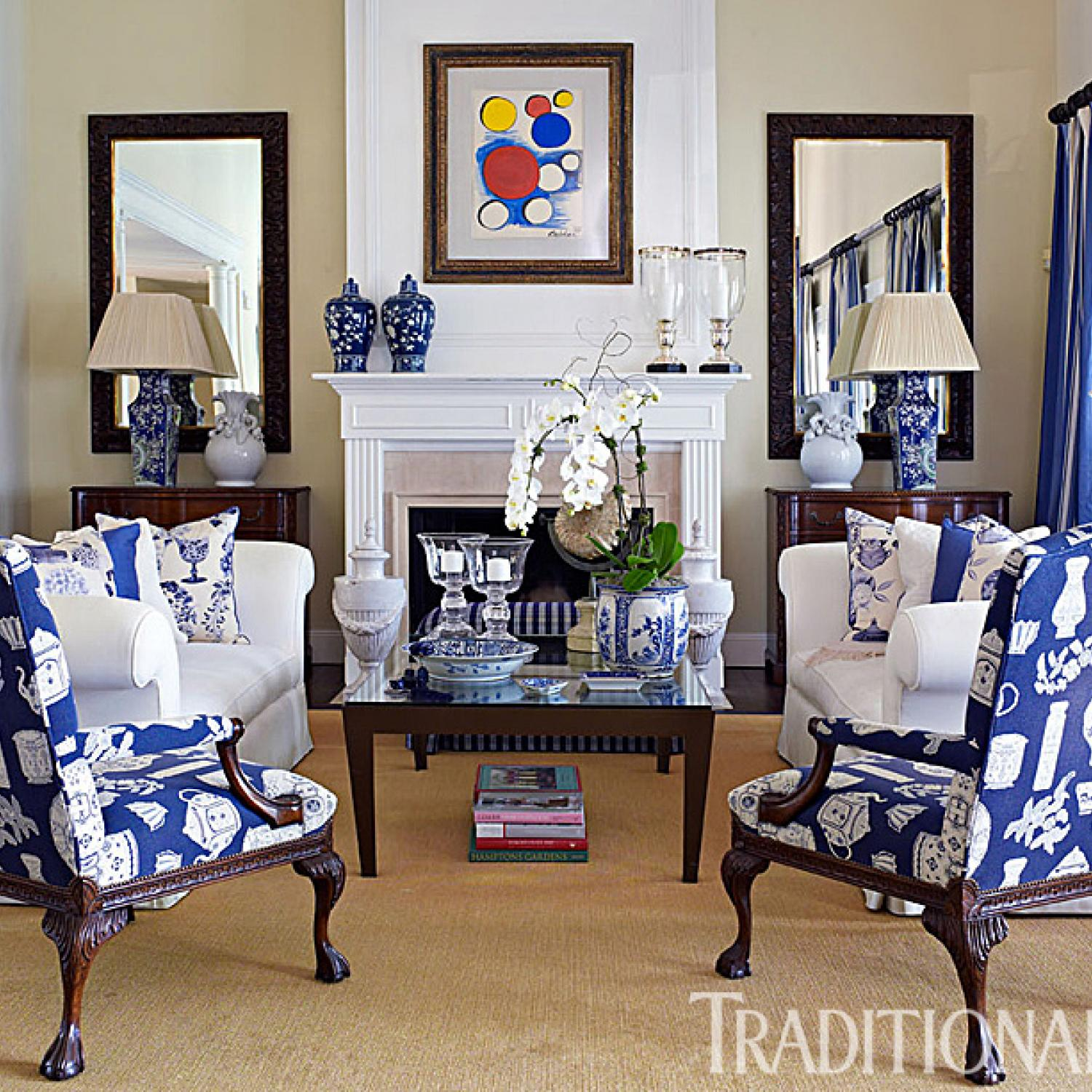 A Fashion Designer's Home in the Hamptons | Traditional Home
