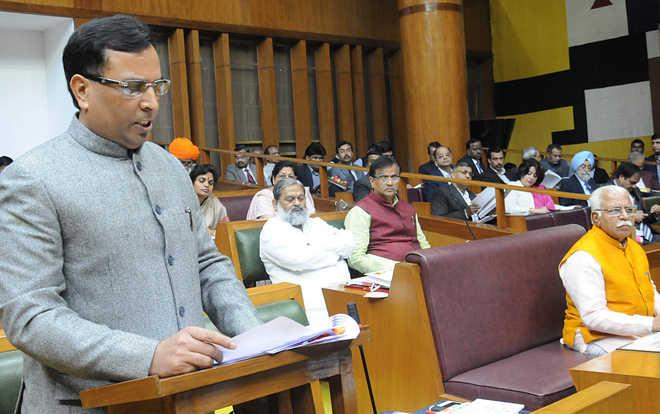 No new taxes in Haryana Budget