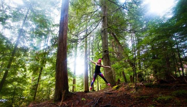 Forest Selfie Whistler
