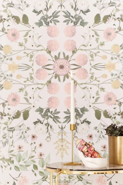 Daniella Floral Removable Wallpaper | Urban Outfitters