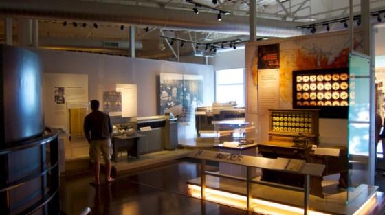 Il Museo della storia del computer a Mountain View, in California.