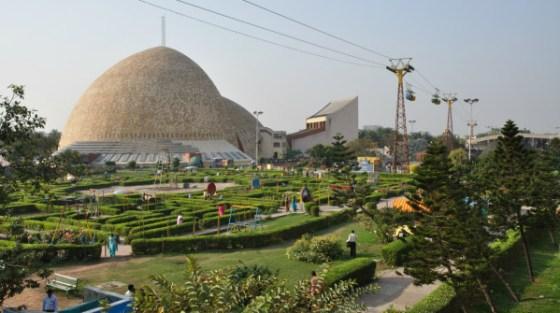 La Città della scienza di Kolkata, in India.