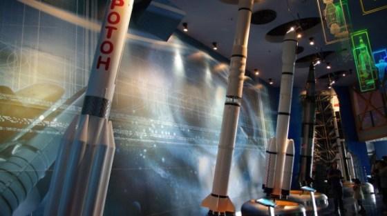 Il Museo della scienza e della tecnologia di Shanghai, in Cina.