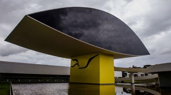 Museu Oscar Niemeyer a Curitiba, Brasile