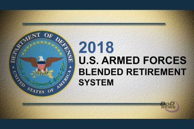 Almost a Million Expected to Opt for 'Blended' Retirement   Military.com