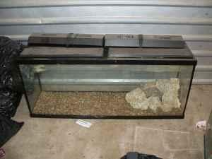 55 Gallon Fish tank w/ Topfin filter   (Manor Texas for sale in Austin