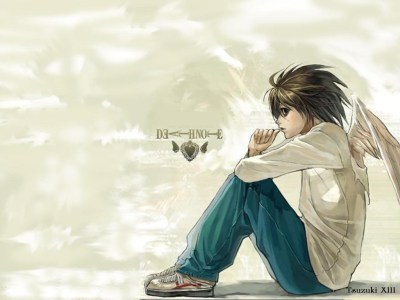 L-death note - L Wallpaper (2170214) - Fanpop