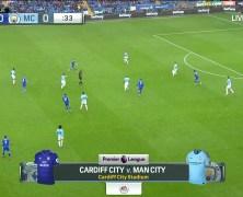 Xem lại: Cardiff City vs Manchester City