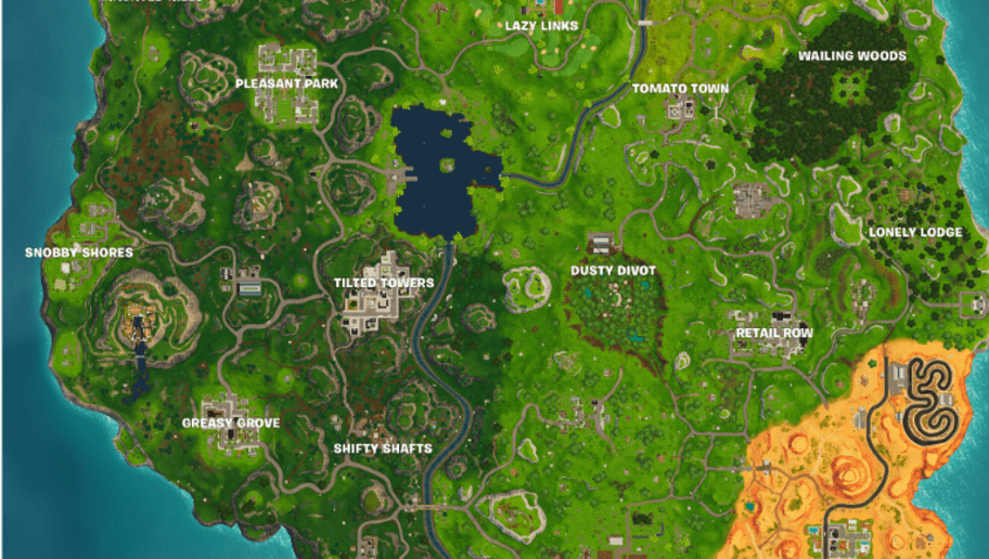 Epic Games Adds Lazy Links and Paradise Palms to Fortnite Season 5     Epic Games Adds Lazy Links and Paradise Palms to Fortnite Season 5 Map