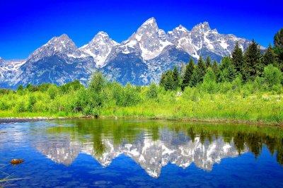The Teton Range Full HD Wallpaper and Background | 3600x2400 | ID:568662