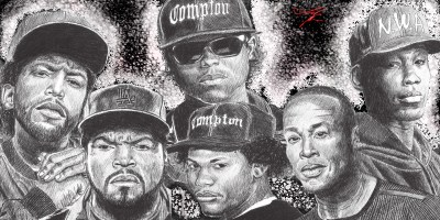 N.W.A. HD Wallpaper | Background Image | 2400x1200 | ID:860592 - Wallpaper Abyss