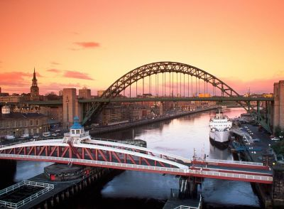 Tyne Bridge and Swing Bridge Newcastle Upon Tyne United Kingdom Wallpaper and Background Image ...