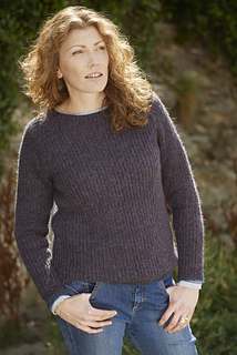 Ladies' Half Fisherman's Rib by Rita Taylor, copyright by Blacker Yarns