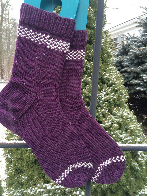 Nutmegknitter's New Socks
