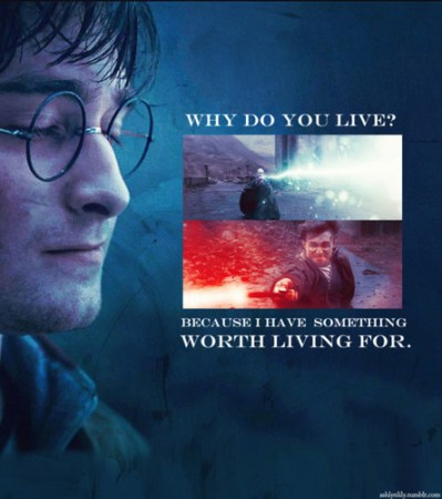 Harry Potter Vs. Twilight images Why do you live? wallpaper and background photos (22606953)